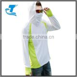 Fishing Clothes Sun Protection Clothing Outdoor Long-Sleeved Shirt Sportwear Summer Breathable