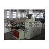 WPC Wood Plastic Profile Extrusion Machine / Machinery for PVC Door Profile Long Lifespan
