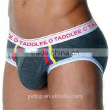 Taddlee Brand Sexy Men Underwear Briefs Low Waist Designed Men's Underwear Boxing Trunks Gay Pouch WJ Man Briefs Cotton
