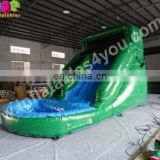 New design inflatable Water Slide with pool for sale