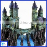 splendid castle decor -resin house