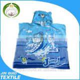 baby surf hooded poncho beach towel plain hooded poncho towels for kids/adult