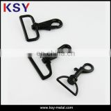 Cheaper black metal dog leash snap hook