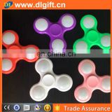 DSFS 018 Fidget Spinner with Built in LED Bluetooth Speaker Hand Spinners Tri Finger Spinning Top Decompression Toys Finger Toys