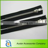 Wholesale metal zipper for shoe boot