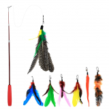 Interactive Cat Feather Toy