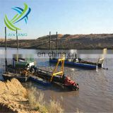 Low price Dredging depth 15m Cutter Suction Dredger machine in sale