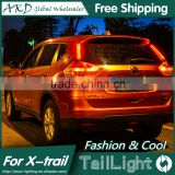 AKD Car Styling Tall Lamp for X-Trail DRL New X-Trail LED DRL 2016 X-Trail LED Tail Light Good Quality LED Fog lamp