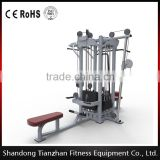 TZ-4019 CE Approved Cable Crossover Gym Equipment/ Multi Station Workout/ 4 Multi-Station