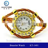 beautiful crystal watch glass face bangle watches for girls bracelet watch wrap bracelet watch