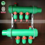 Floor/Underfloor Heating/Plumbing system PP-R Manifold/More durable than brass manifold