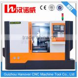 Chinese cnc metal lathe for sale slant bed cnc lathe machine CKX400F tool turret type and 8'' hydraulic chuck                                                                         Quality Choice