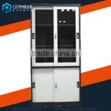 High Density Steel Filing Cabinet Powder Coated Sliding Door Metal File Cabinet A3 Folders Storage Cupboard