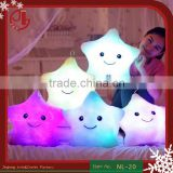 LED Luminous Night Light Love Heart Plush Led Pillow Stuffed Cushion LED Plush Toy Valentine Gifts Direct Sale