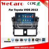 Wecaro WC-TU8021 android 5.1.1 car radio gps for toyota vios /yaris 2013-2016 navigation system dvd multimedia wifi 3g playstore