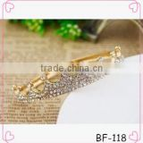 Fashion Jewelry Gold diamante Crown Bracelet For Fashion Girls