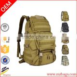 Outdoor Military Tactical Backpack Hiking Bag Rucksack 45L MOLLE Large Big Tactical Army Ergonomic Backpack Bag