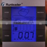 Purple Backlight LCD Digital Hygrothermograph	Hygrometer Thermometer for Home Hospital Lab School