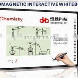 63 inch interactive whiteboard finger display