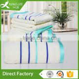 Jacquard Satin style Bamboo towel set for gift