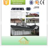 wave tile Type and Al-Zn Material stone coated steel roof tile