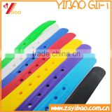 Customs Design Silicone Rubber Belt/ Silicone Candy Color Man Belt