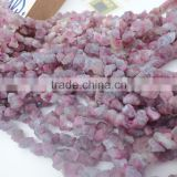 Wholesale Price Natural Stone Rough/Raw/Nugget Red Tourmaline Gems