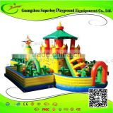 Kids Outdoor Inflatable Air Castle Jun22b
