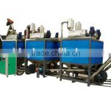 ABS/PS/PP Mixed waste plastic separator high voltage electrostatic separator mixed plastic separator
