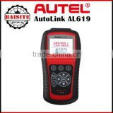 Super Function auto car diagnsotic scanner Autel AutoLink AL619EU OBDII CAN ABS And SRS Scan Tool