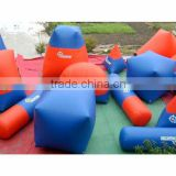 2014 hot sale inflatable paintball field/inflatable millenium paintball bunker/paintball marker(professtional factory)