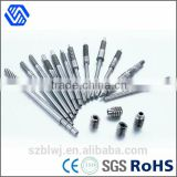 high precision hardened steel Motor linear shaft