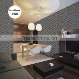 hottest embossed vinyl wallpaper, taupe simple cube wall decal for teenage , self adhesive wall paper shop
