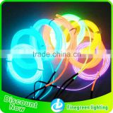 multi color el wire/high brightness el wire/all kinds of neon el wire for decoration/3m el wire