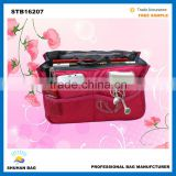 2016 Hot sale promotional travel storage bag make up and toothbrush travel bag toiletry bag