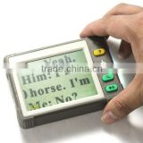Adaptor/ Battery Powered 3.5 inches Handheld Portable LCD Electronic Video Digital Magnifier with 7 Color Modes/ TV connection