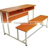 Classroom furniture desk and chair/School desk and chair for sale/School desk and bench/School desk with bench
