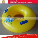 Factory price Inflatable Water Game ring, PVC single swimming ring for adult and children