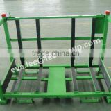 Foldable heavy duty cage metal pallet/Stackable storage & transportation steel pallet