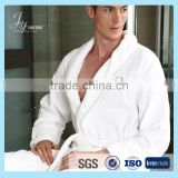 embroidered satin bathrobe for hotel and household