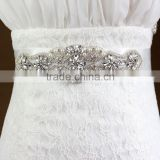 Wholesale crystal rhinestone bridal dress sash belt for wedding bridal                                                                         Quality Choice