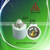 adapter socket e27 to 40 / e27 e40 lamp convertor