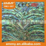 New Zealand abalone (paua) shell paper sea mother of pearl shell paper/shell sheet/shell laminate