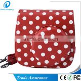 Dot pattern Fujifilm Instax Mini8 Camera case with Shoulder Strap for Fuji Instant Film Camera Mini8 Mini8 Plus