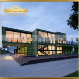iPrefab-LPOBS-M2 Hot Design Artistic creative wonderful prefabricated steel structure business office building