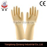 85-105grams Natural color unflocklined Industrial Latex Gloves/Ox sinew Multi-use rubber glove