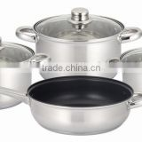 7pcs stainless steel non stick cookware set(kitchenware houseware)                                                                         Quality Choice