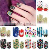 1X Beaty Flower Nail Art Water Decals Transfer Sticker sheet on finger nails stickers for women minion nail sticker decasl