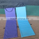 Padded folding beach mat with backrest/Folding flooring mat with strap