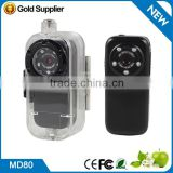 HD 1080P high resolution mini camera With PC camera functiom MD80 MINI DV DVR Video Camera Microsd, supports upto 4GB Webcam
